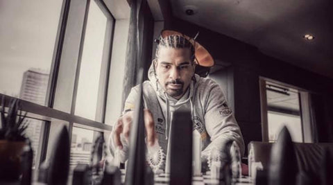 David Haye Skyline Chess London