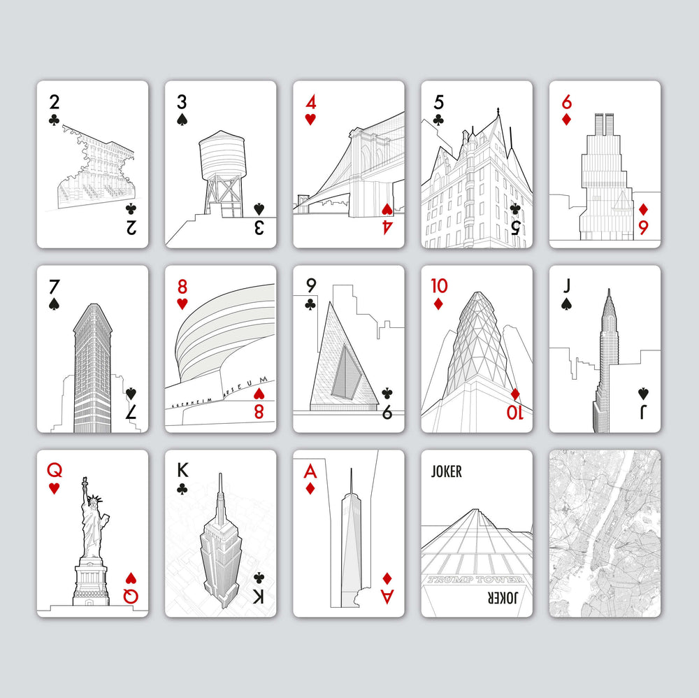 Skyline Playing Cards