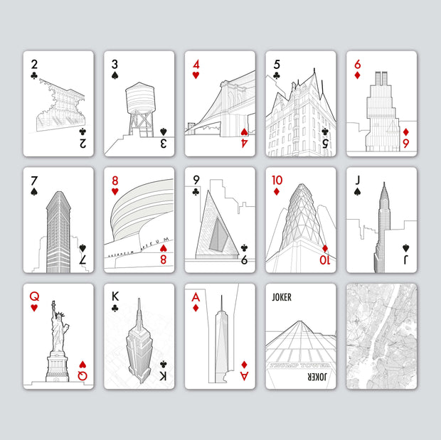 London Playing Cards personalized gifts