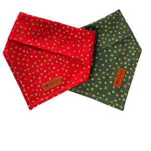 Jolly Star Bandana - Red or Green