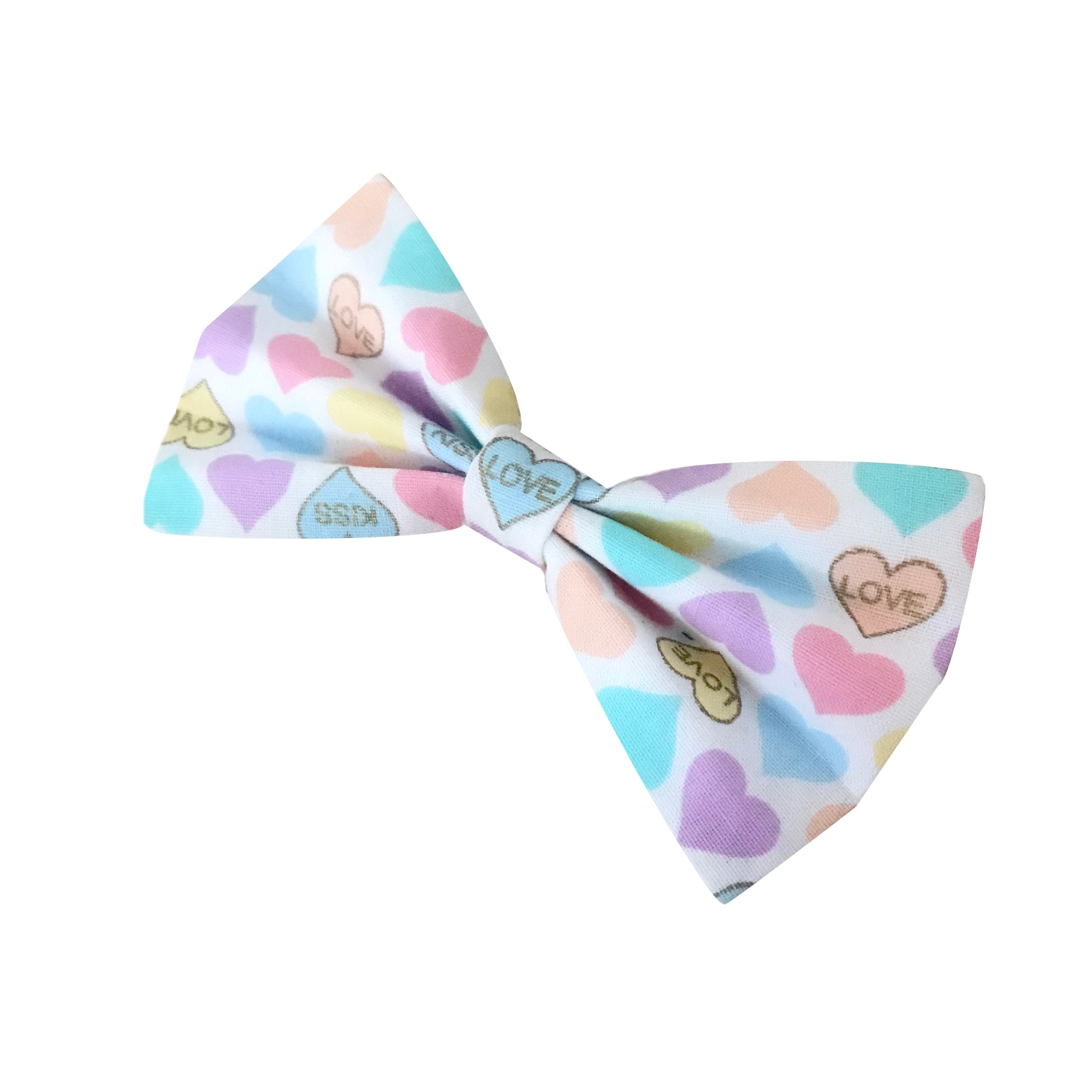 Candy Hearts Bow Tie