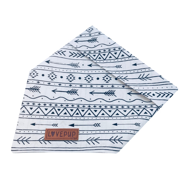 White Arrows Bandana