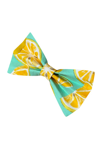 Lovely Lemon Bow Tie