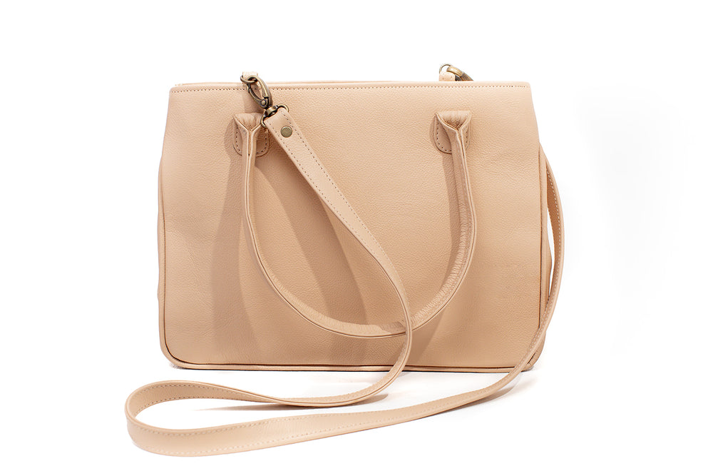 double zip handbag - Masch