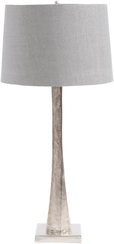 Nickel/Aluminium Table Lamp