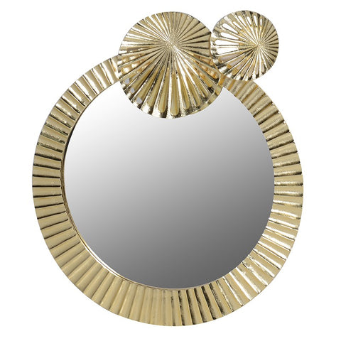 Lily Pad Deco Gold Mirror
