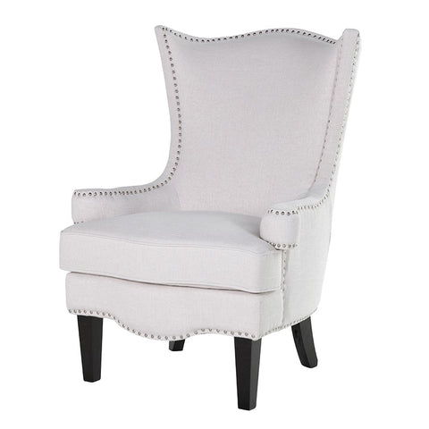 Ivory High Back Chair