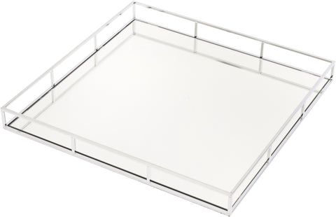 Large Chrome Platted Tray
