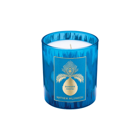 Summer Siesta 200g Candle by Matthew Williamson
