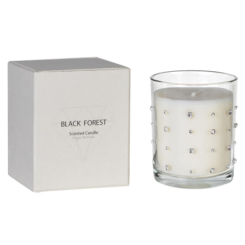 Scented Diamante Candle