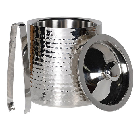 Small Hammered Ice Bucket