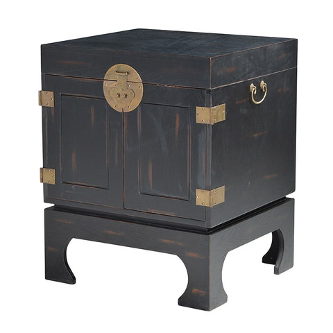 Pair Of Oriental Box Side Table