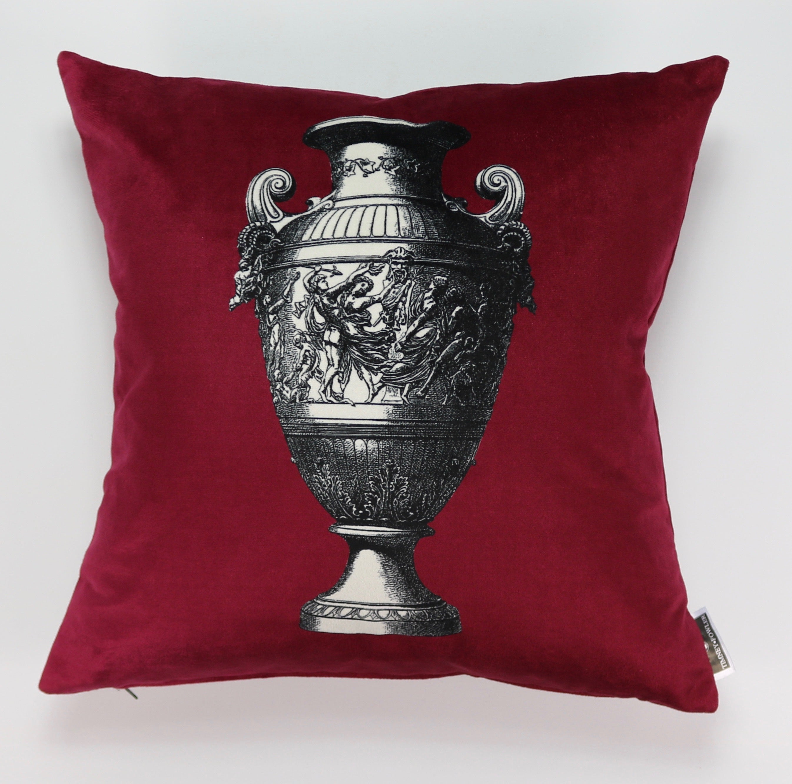 Timothy Fowler Cushion (Burgundy)