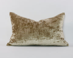 "24""x16"" Matt Gold Sequin Cushion"