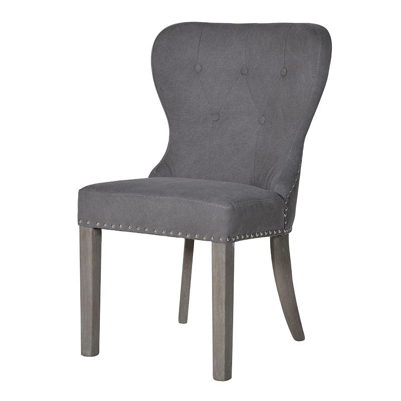 Grey Washed Dining Chair