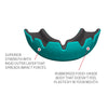 lobloo SLICK Professional Dual Density Mouthguard, One size (+10 yrs), Mint