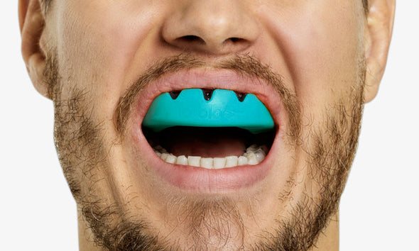 lobloo SLICK Professional Dual Density Mouthguard, One size (+10 yrs), Mint - lobloo