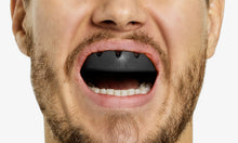 lobloo SLICK Professional Dual Density Mouthguard, One size (+10 yrs), Black - lobloo