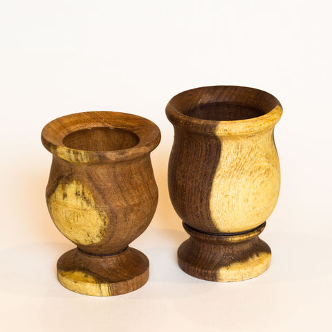 SoulMate Yerba Co Wood Mate Cups