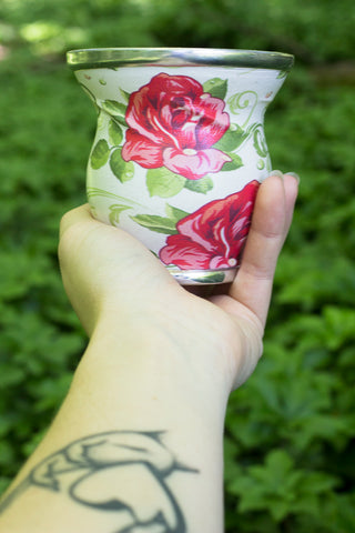 SoulMate Rose Glass Cup