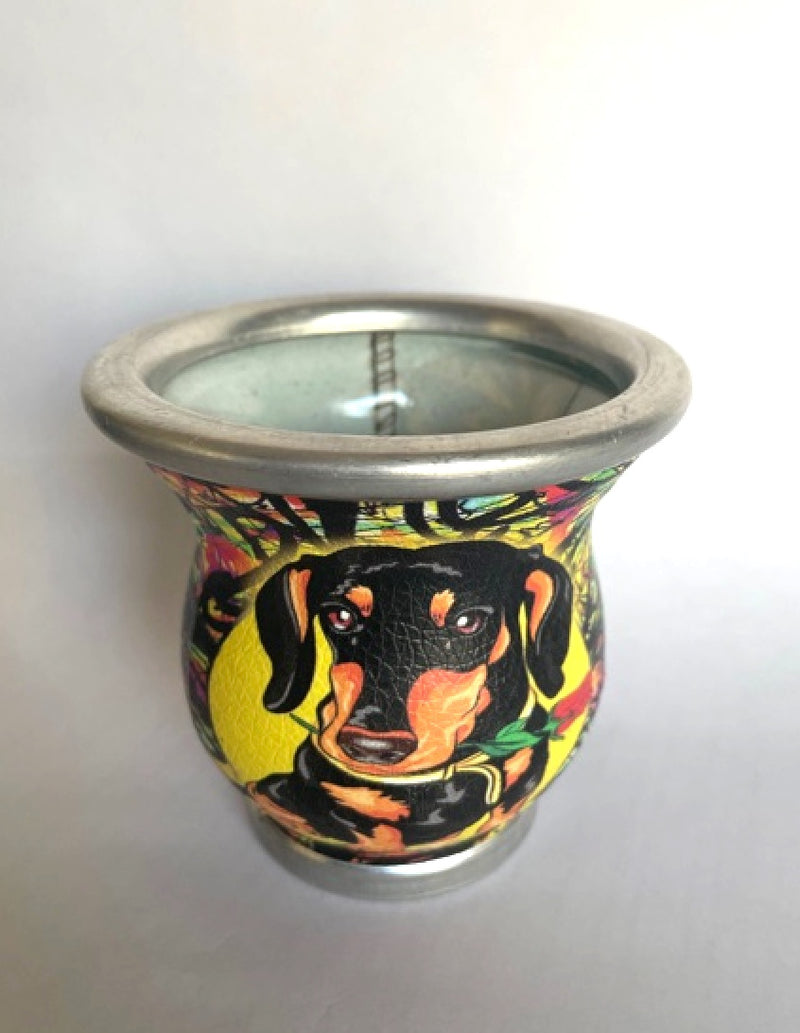Dachshund Glass Mate Cup