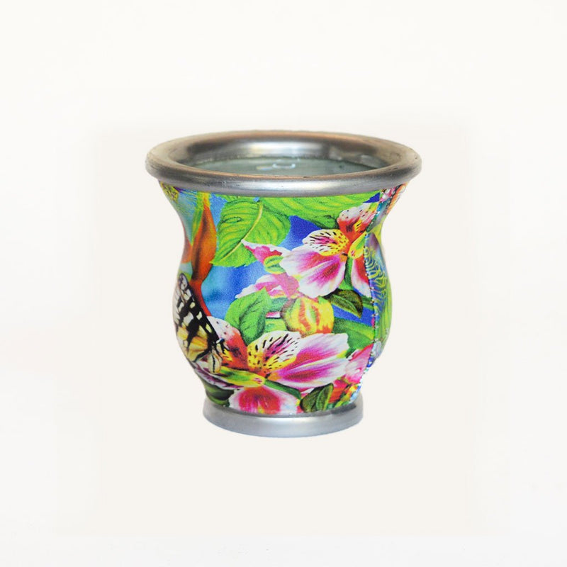 Butterfly Glass Mate Cup - Soulmate Yerba Co.