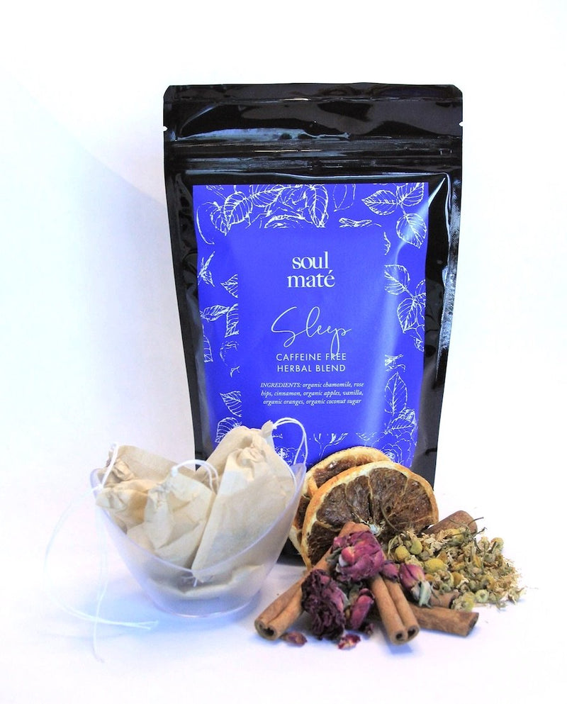 """Sleep"" Organic Caffeine-free Herbal Blend - Soulmate Yerba Co."