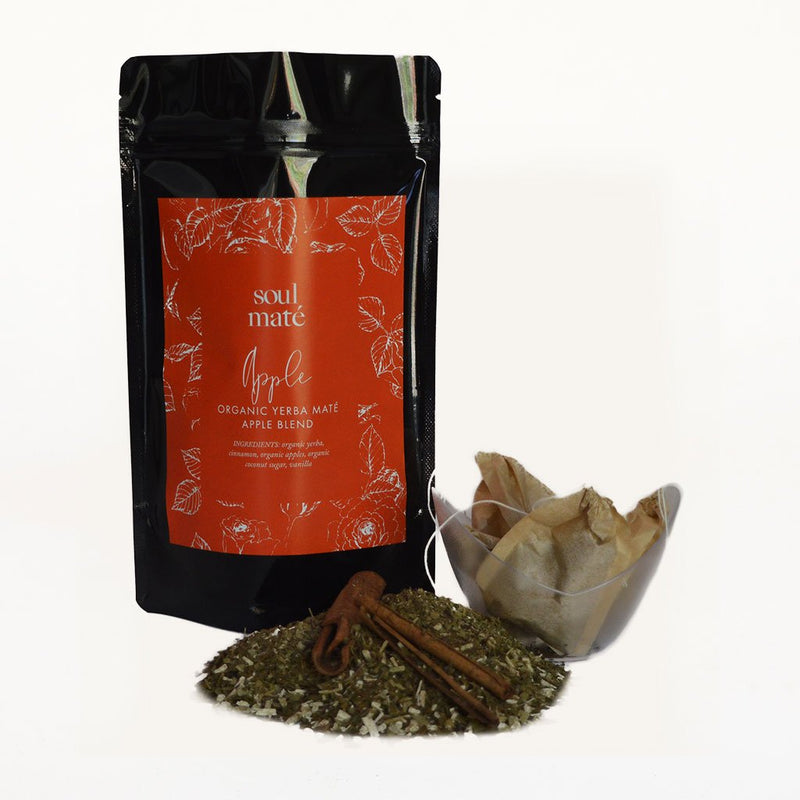 """Apple"" Yerba Mate Tea Blend - Soulmate Yerba Co."