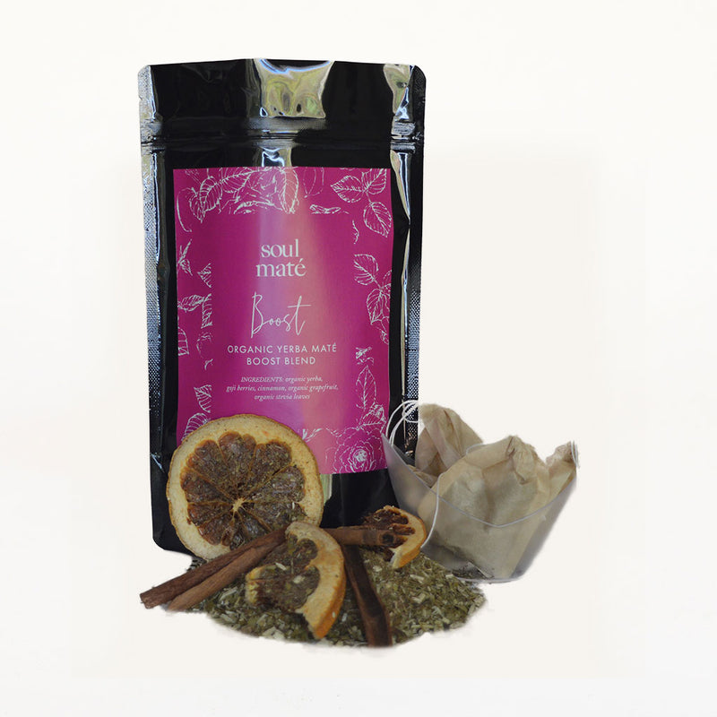 """Boost"" Organic Yerba Mate Tea Blend - Soulmate Yerba Co."