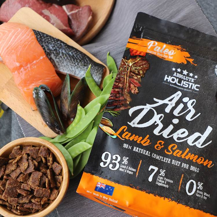 Absolute Holistic Air-Dried Dog Food - Paleo Inspired Whole Prey Diet