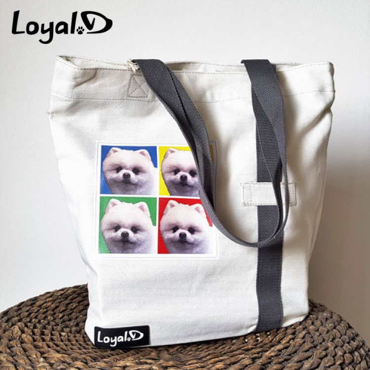 Personalised Tote Bags with Loyal.D.