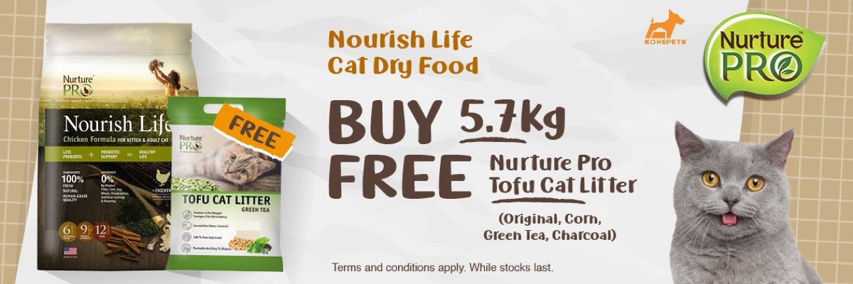 Try Nurture Pro Cat Food Now!