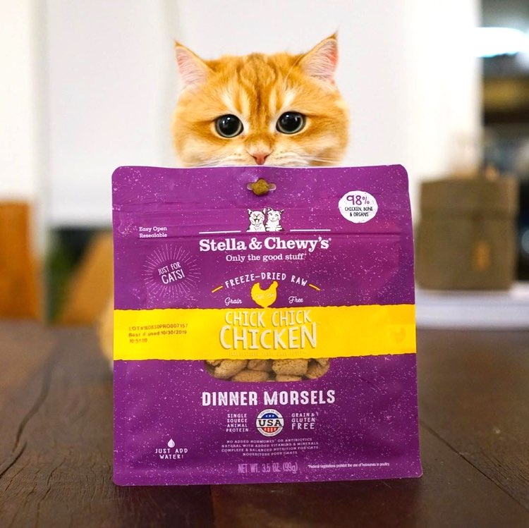 Stella & Chewy's Cat Food - Dinner Morsels, The Wild Diet Your Cats Crave!