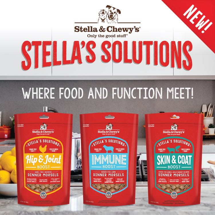 Stella & Chewy's Dog Food - Healthy Eating Made Easy With Stella's Solutions!