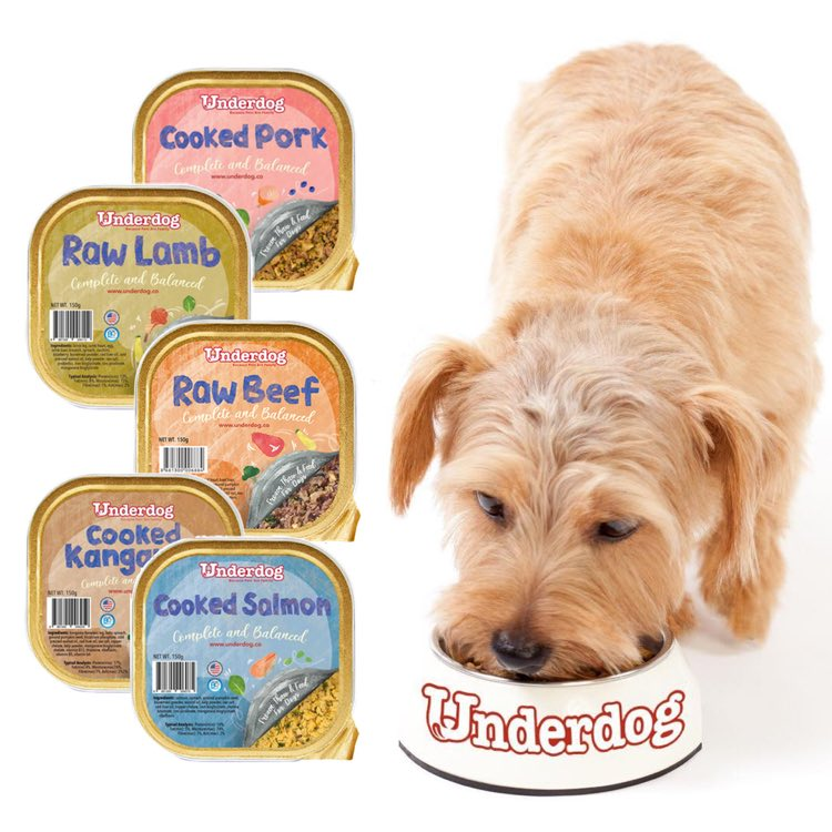 Underdog Frozen Dog Food - Single Protein Source Recipes