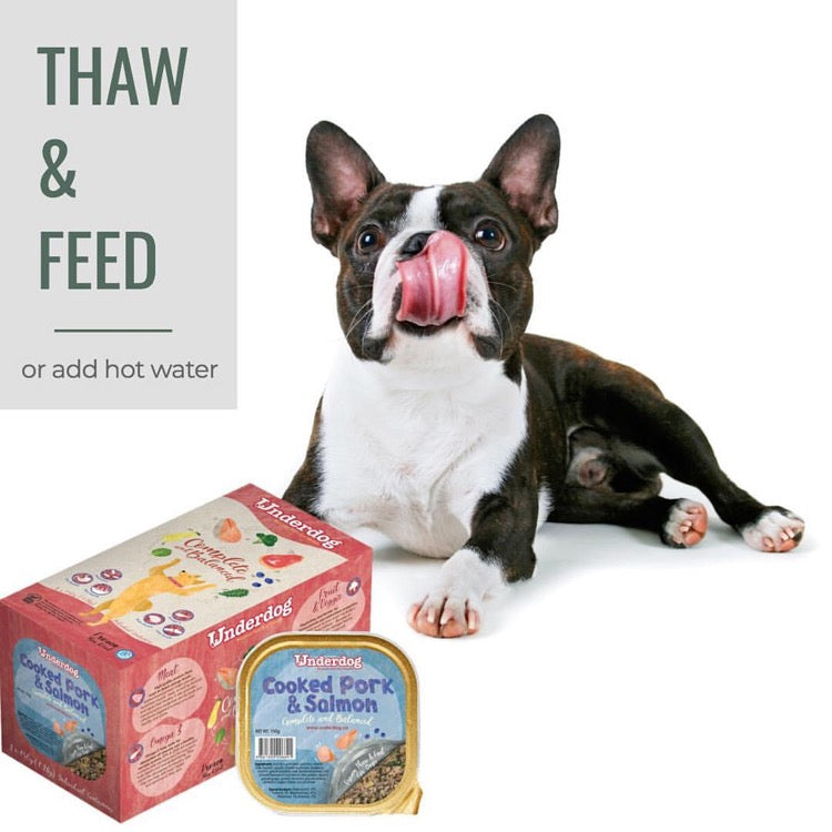 Closer Look At Underdog Frozen Dog Food