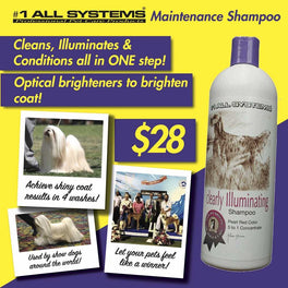 #1 All Systems Clearly Illuminating Pet Shampoo