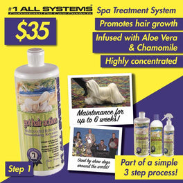 #1 All Systems Got Hair Action Smoothing Keratin Pet Shampoo 32oz