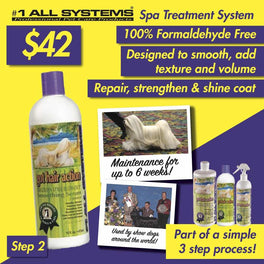 #1 All Systems Got Hair Action Smoothing Serum & Moisturizer Pet Conditioner 16oz