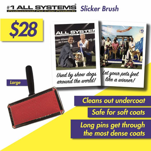 #1 All Systems Large Pet Slicker Brush