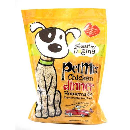 Healthy Dogma Petmix Chicken Dinner Dehydrated Dog Food - Kohepets