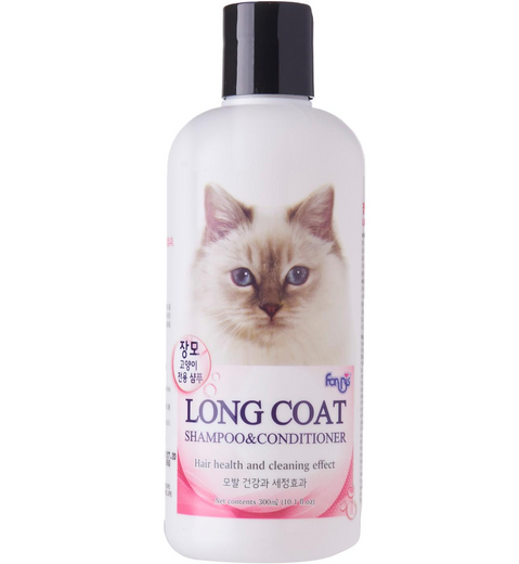 Forbis Long Coat Cat Shampoo & Conditioner 300ml - Kohepets