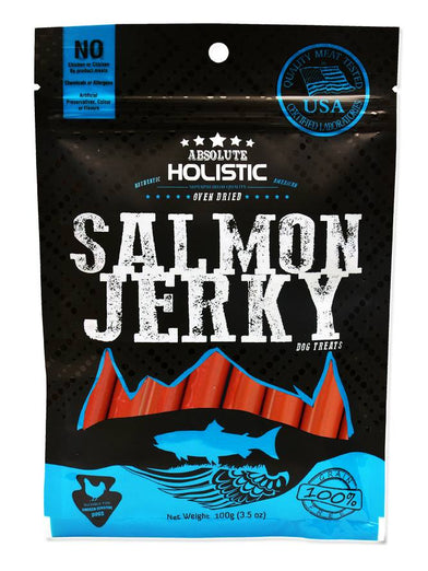Absolute Holistic Grain-Free Salmon Sausage Roll Dog Treat 200g