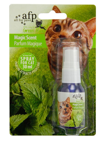 All For Paws Magic Scent Catnip Spray 30ml - Kohepets
