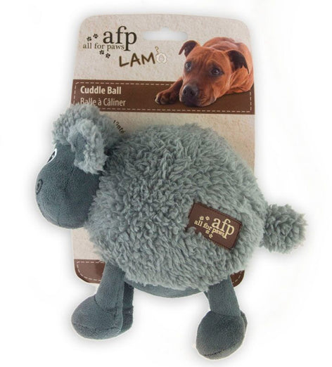 All For Paws Lambswool Cuddle Ball Dog Toy
