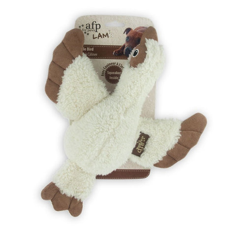 All For Paws Lambswool Cuddle Bird Dog Toy - Kohepets