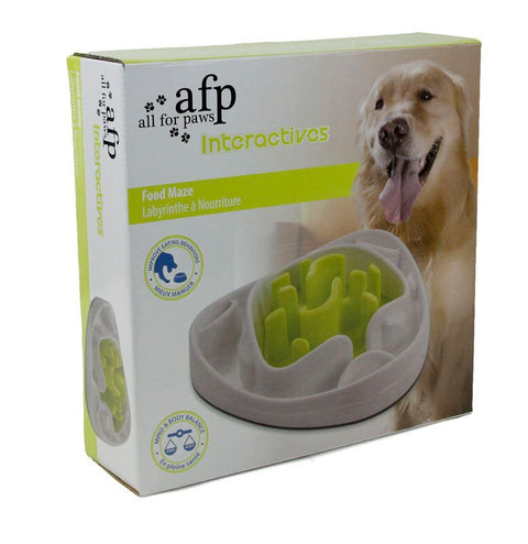 All For Paws Food Maze Slow Feeder Dog Toy - Kohepets