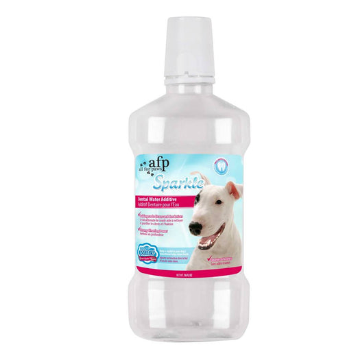 All For Paws Sparkle Dental Water Additive 16oz