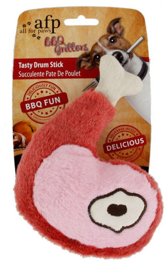 All For Paws Tasty Drumstick Dog Toy - Kohepets