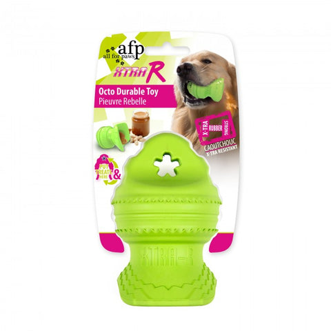 All For Paws Xtra-R Durable Octo Dog Toy - Kohepets